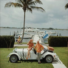 All Mine, 1968: Jim Kimberly and his wife beside Lake Worth, Florida