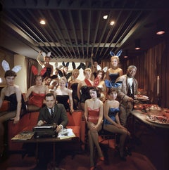 Man's Work, 1960: Hugh Hefner and Bunnies at the Playboy Key Club, Chicago