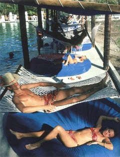 Plantation Cocoyer, 1982: People relaxing at Cocoyer Beach, Haiti