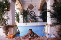 Paul Bancroft of San Francisco, Pool at Puerto Vallerta, Mexico, 1979