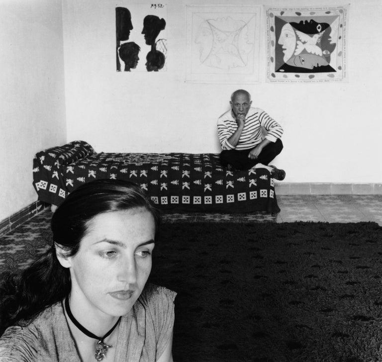 Pablo Picasso et Françoise Gilot