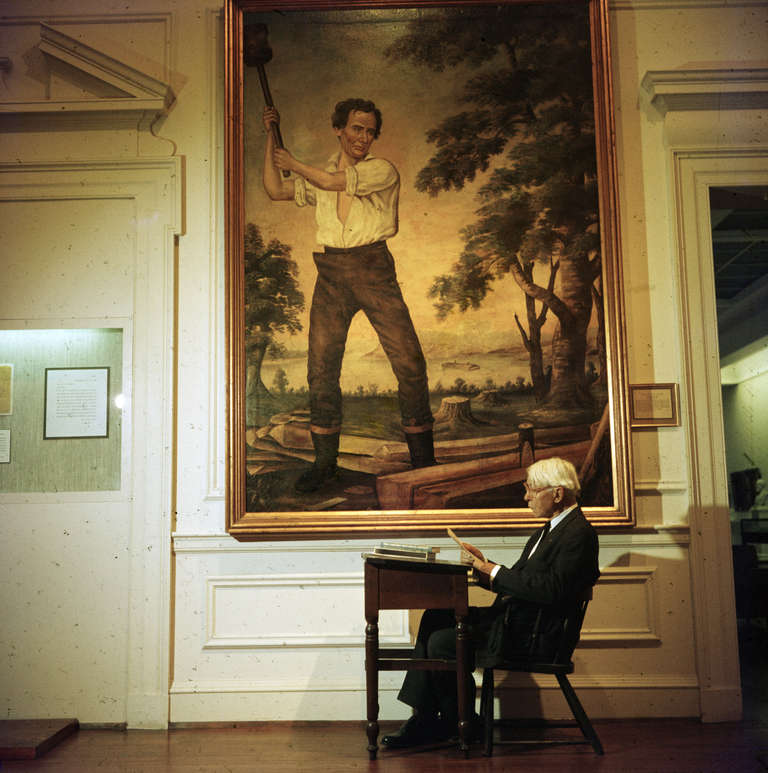 Slim Aarons Carl Sandburg Chicago Historical Society