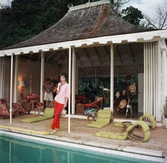 Family Snapper: Babe Paley and William Paley at their cottage in Round Hill