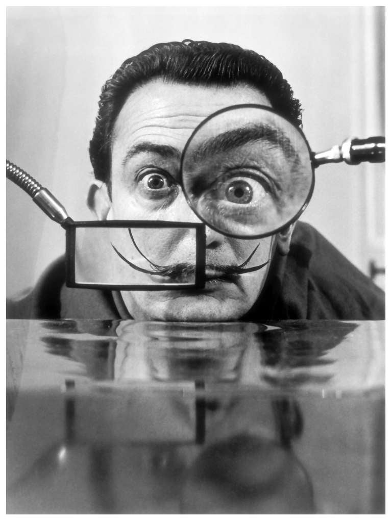 Willy Rizzo - Salvador Dali, Paris, 1950, Photograph: For Sale at ...
