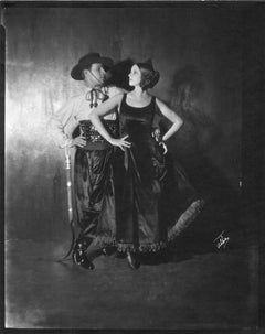 Rudolph Valentino and Natasha Rambova, New York, 1921