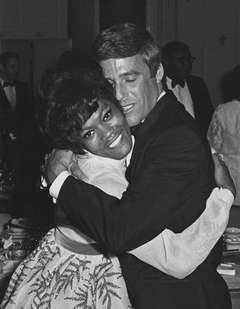 Dionne Warwick and Burt Bacharach, Pierre Hotel, New York