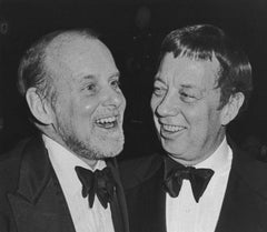 Bob Fosse and Cy Coleman, Waldorf Astoria Hotel, New York