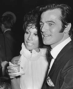 Diahann Carroll and Robert Goulet, Sardi's Restaurant, New York