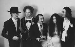 David Bowie, Art Garfunkel, Paul Simon, Yoko Ono, & John Lennon