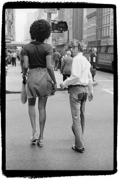 Woody Allen and Tamara, 57th Street Bridge, New York, 1971