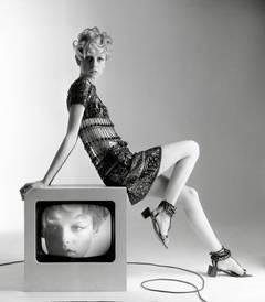 Twiggy, Vogue, 1967