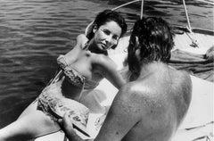 Elizabeth Taylor and Richard Burton, Ischia, Italy
