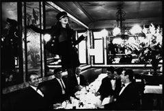 Kate Moss at Café Lipp, Paris, VOGUE Italia