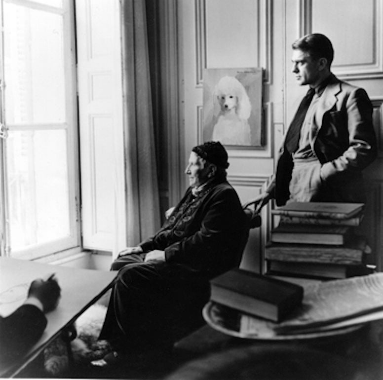 Carl Erickson Drawing Gertrude Stein and Horst, Paris