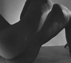 Male Nude, Back Study, New York