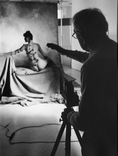 Horst P. Horst (Photographing nude in studio), 1982