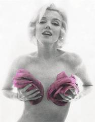 "Marilyn Monroe: From ""The Last Sitting,"" 1962 (Pink Roses)"