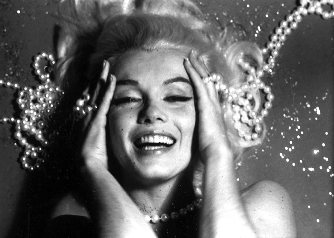 """Marilyn Monroe: From """"The Last Sitting"""" (Pearls)"""