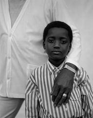 Boy in striped shirt, Vicksburg, Mississippi