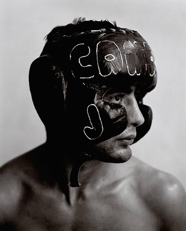 Kurt Markus Black and White Photograph - Jose Carmargo Medina, Mexico City