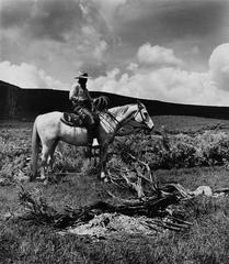 Dave Zeller, Spanish Ranch, Tuscarora, Nevada, 1983