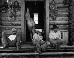 Olga and The Cowboys, Little Bear Ranch, Montana