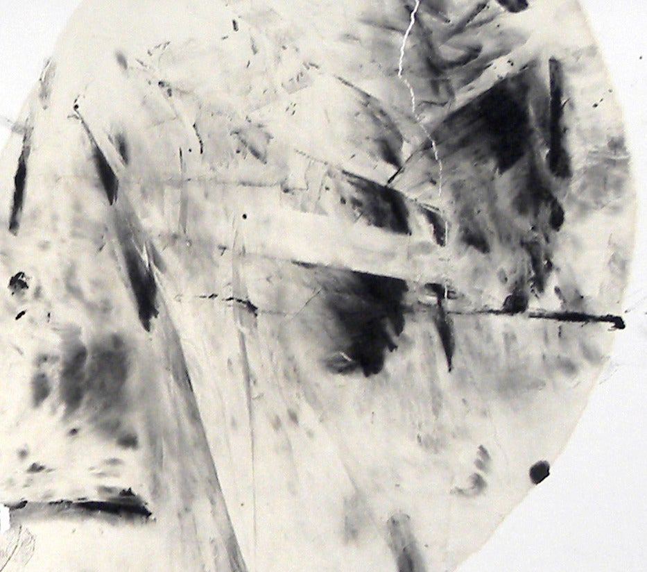 Untitled V - Painting by Zhu Lan