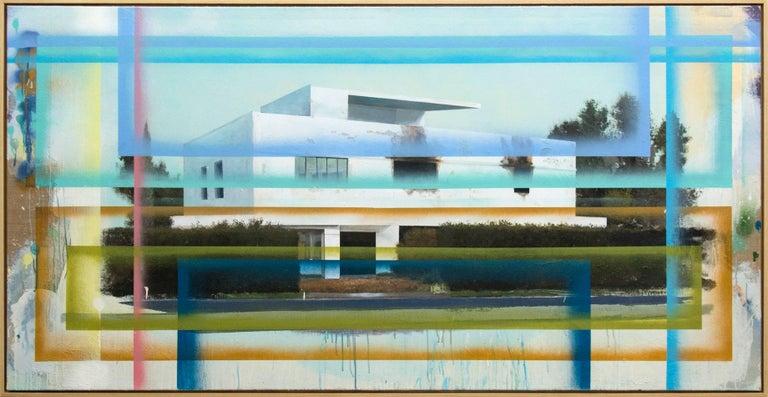 Peter Hoffer Landscape Painting - Bauhaus No 2