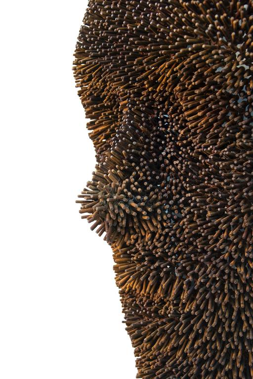 Anemone - Black Figurative Sculpture by Dale Dunning