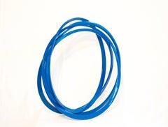 Round and Round Blue
