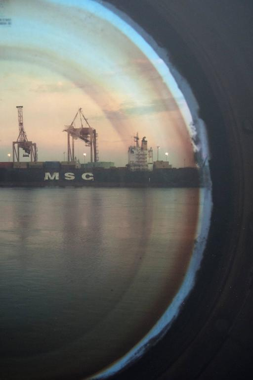 Vantage Point: Portholes , 2009 edition 7/7 - Contemporary Photograph by April Hickox
