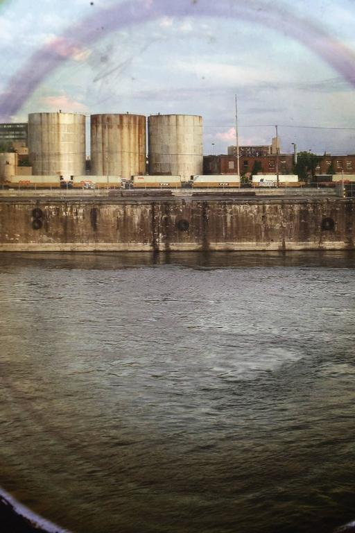 Vantage Point: Portholes , 2009 edition 7/7 - Black Landscape Photograph by April Hickox