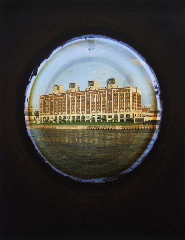 April Hickox Landscape Photograph - Vantage Point: Portholes (Building)