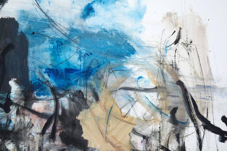 Clyde House No 91 - Gray Abstract Painting by Scott Pattinson