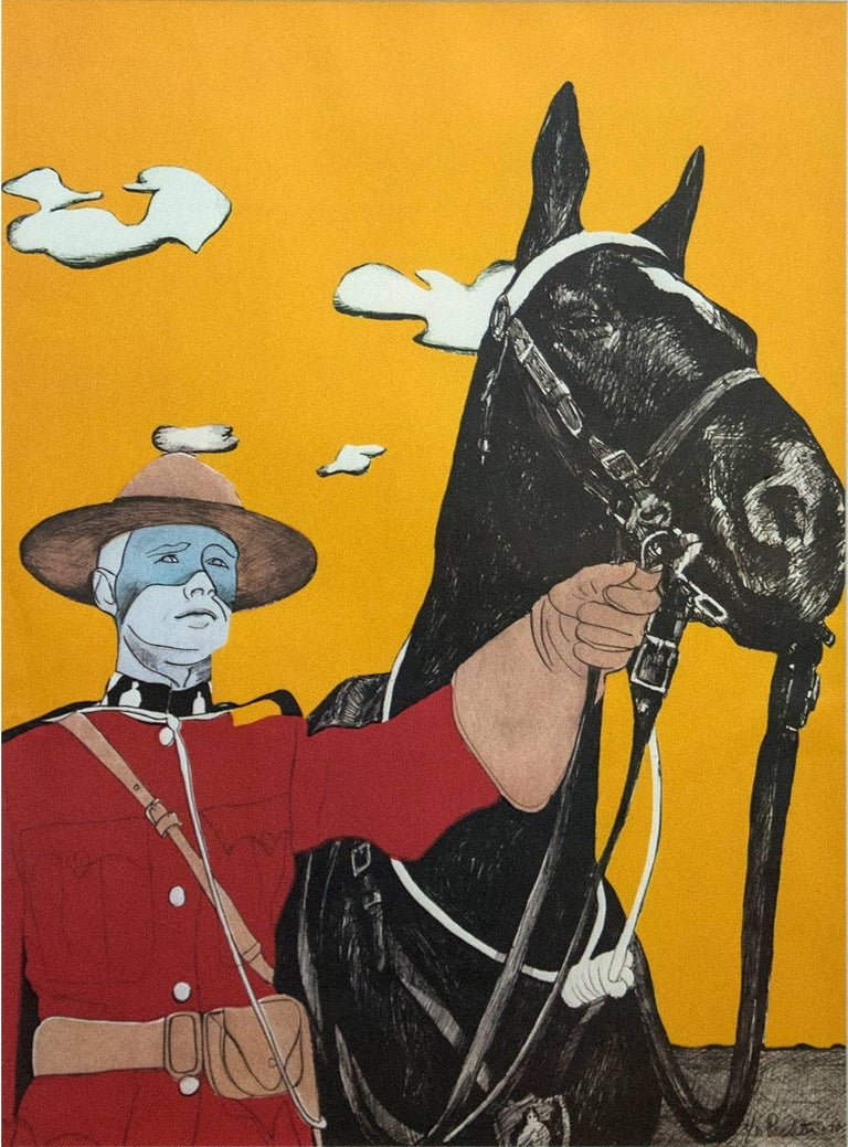 Noblesse Oblige 3/10 - pop-art, Canadiana, iconic, contemporary, giclee print - Print by Charles Pachter