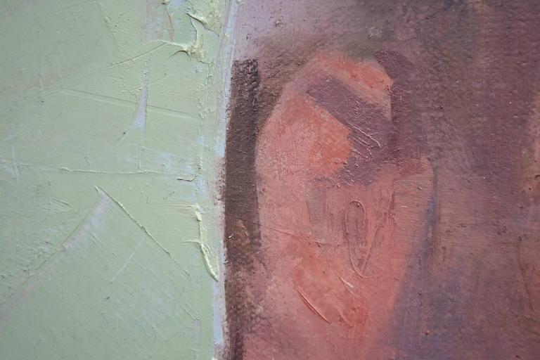Self Portrait No 2 - Contemporary Painting by Daniel Hughes