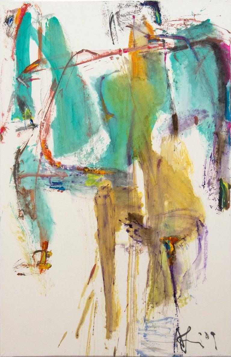 Andrew Lui Animal Painting - Traverser No 1