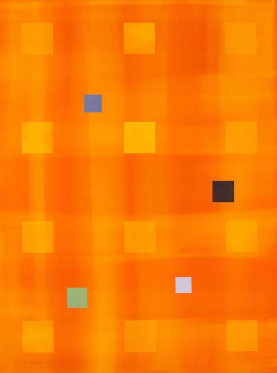 Yellow Orange Grid