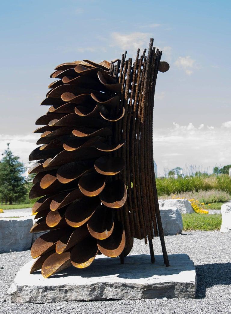 Segment - Fire Cone - Sculpture by Floyd Elzinga