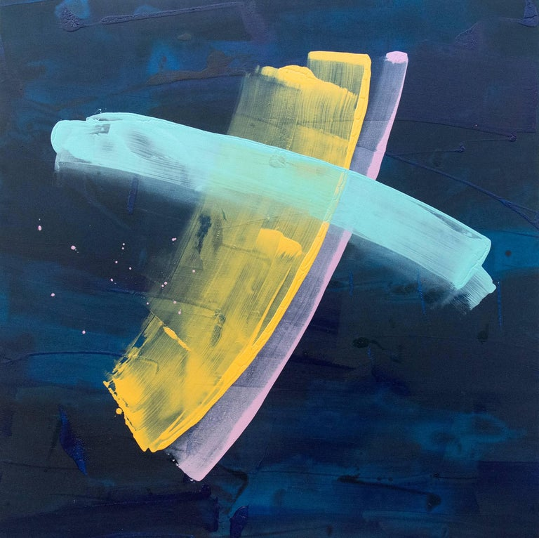 Milly Ristvedt Abstract Painting - Saturn's Ring