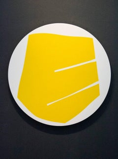 Round Yellow with Two Lines