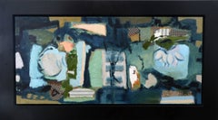 Diptych in Blue and Green