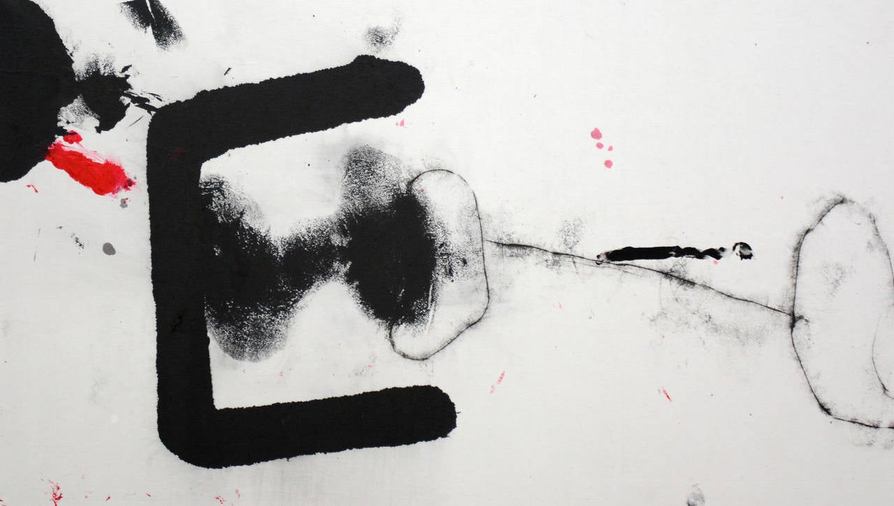 Untitled XV - Abstract Painting by Zhu Lan