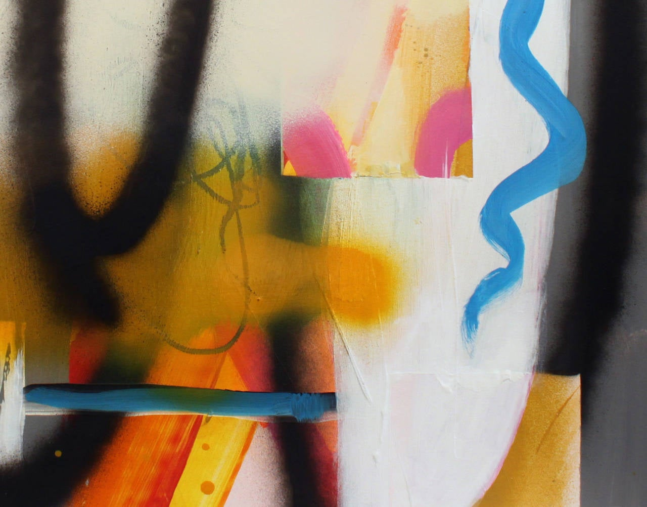 Untitled No 06 - Abstract Painting by Fiona Ackerman