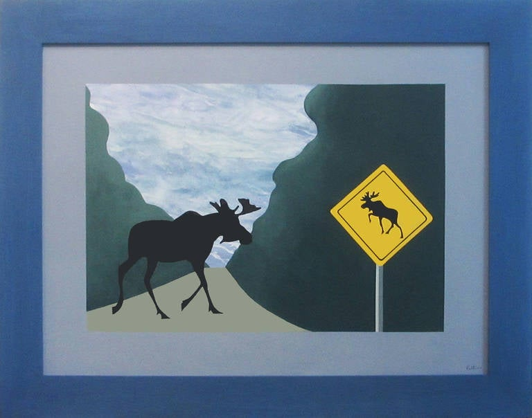 One of Canada's leading contemporary artists, Charles Pachter is a painter, printmaker, sculptor, designer, historian, author and lecturer. His paintings hang in public and private collections around the world. Those of the Queen, moose, and maple