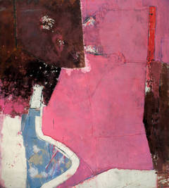 Monumental Pink Abstraction