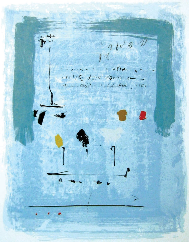 Alice Teichert Abstract Print - The Text Is Still Unwritten - Ouverture