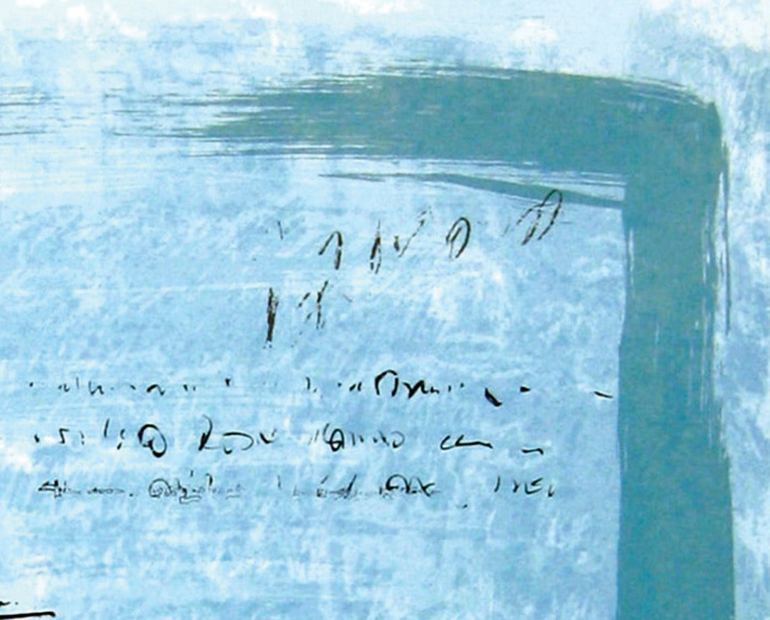 The Text Is Still Unwritten - Ouverture - Contemporary Print by Alice Teichert
