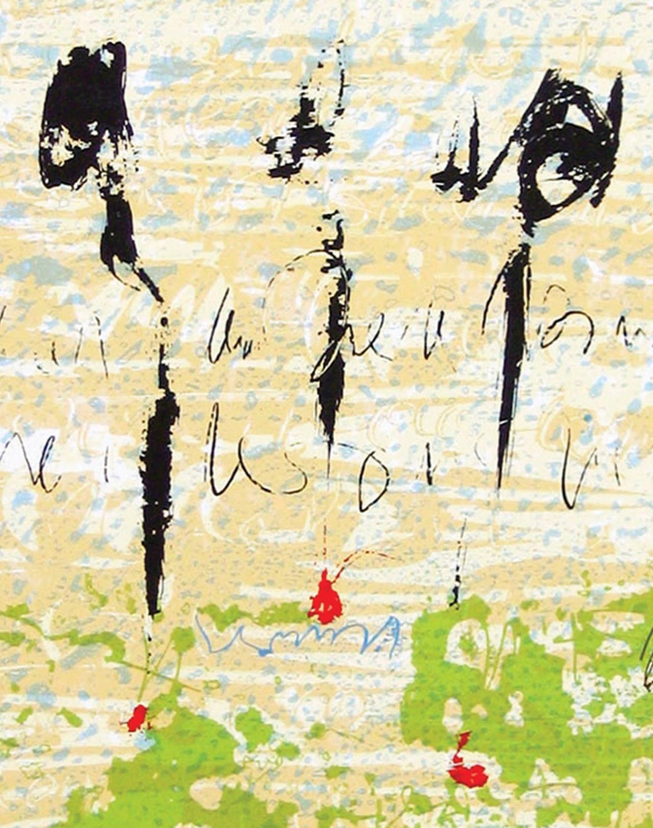 The Text Is Still Unwritten - Tango - Art by Alice Teichert