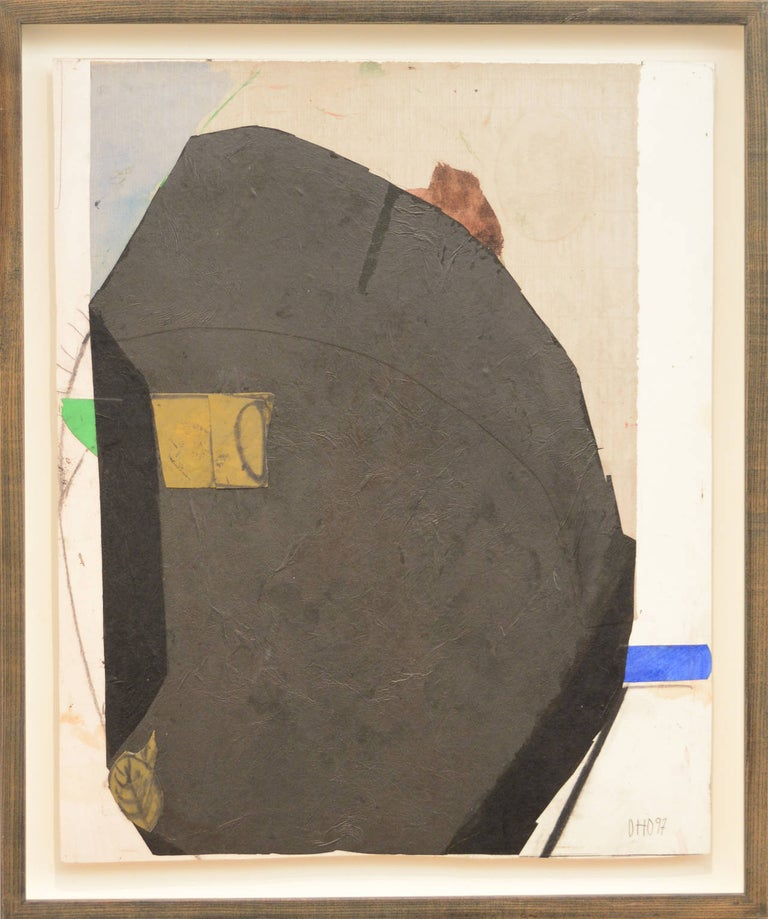Otto Donald Rogers Abstract Drawing - Monumental Rock